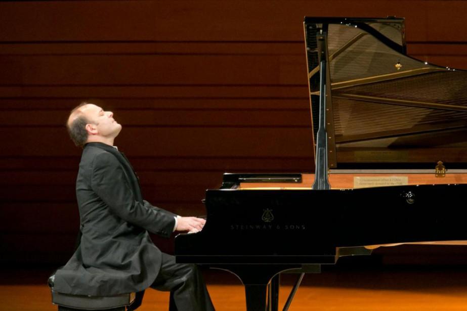 Le pianiste Louis Lortie... (PHOTO HUGO-SÉBASTIEN AUBERT, LA PRESSE)