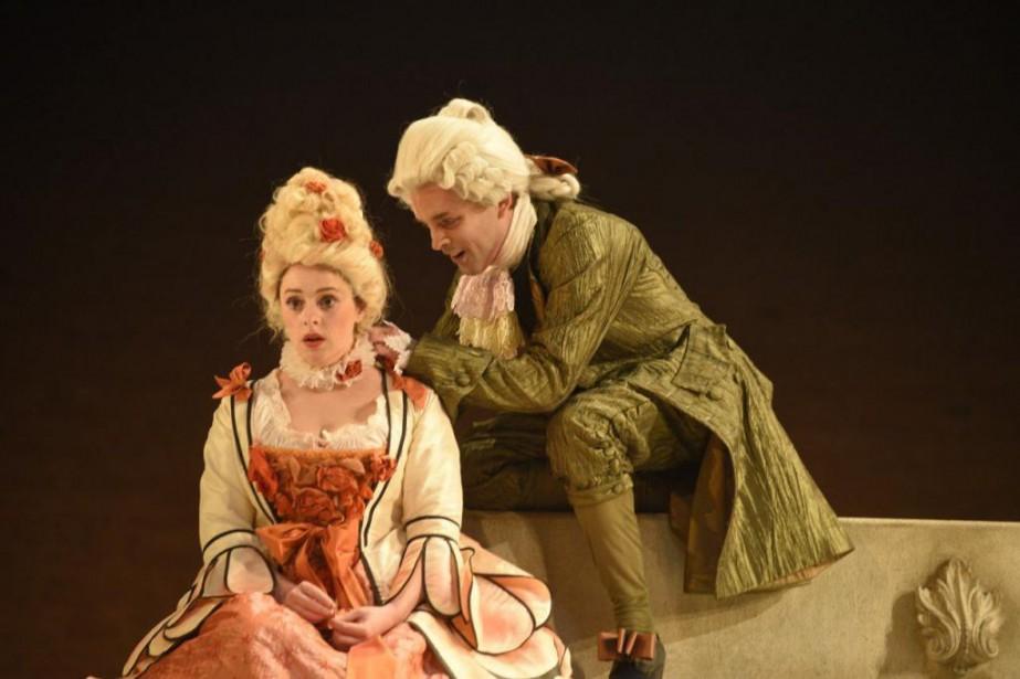 DansLe jeu de l'amour et du hasard, Catherine... (Photo fournie par le TNM)