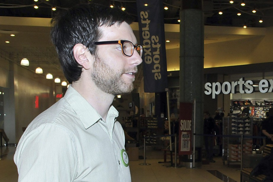 Alex Tyrrell, chef du Parti vert.... (Photo Rocket Lavoie, Archives Le Progrès-Dimanche)