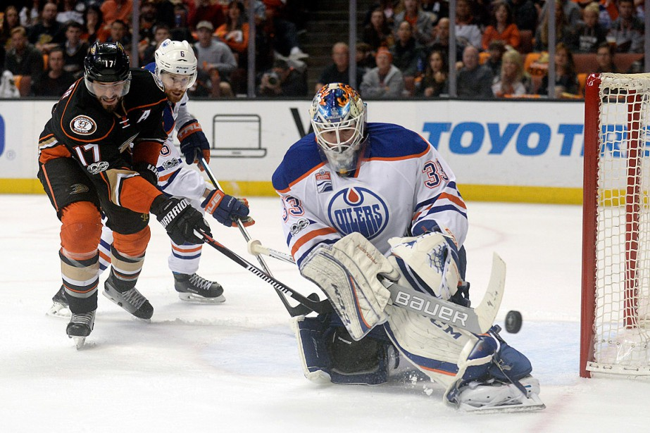 Le gardien des Oilers Cam Talbot a disputé... (USA Today Sports)