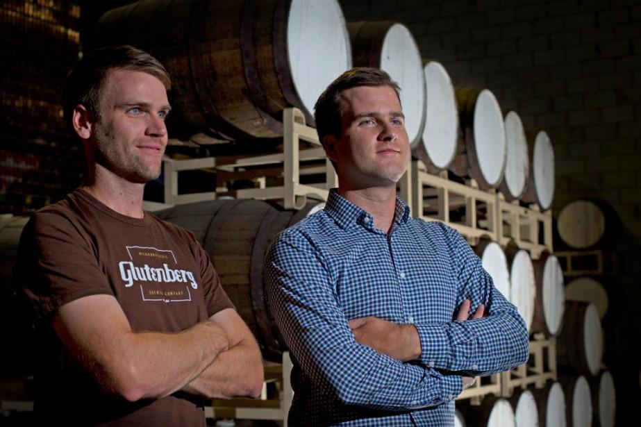 David Cayer et Julien Niquet, chefs de la... (Photo Olivier Jean, Archives La Presse)