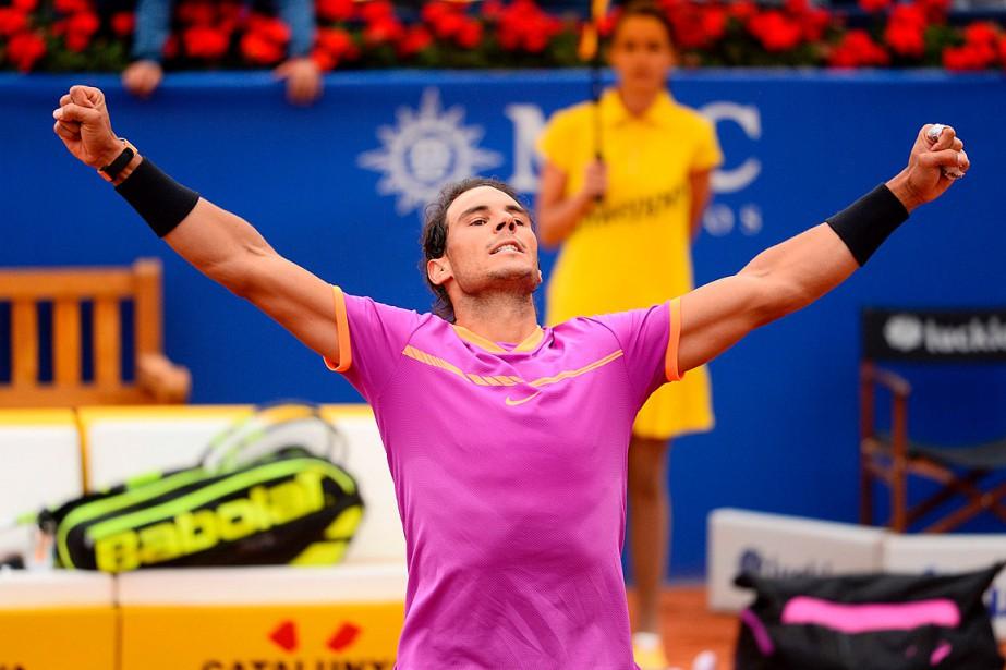 Rafael Nadal... (Photo Josep LAGO, AGENCE FRANCE-PRESSE)