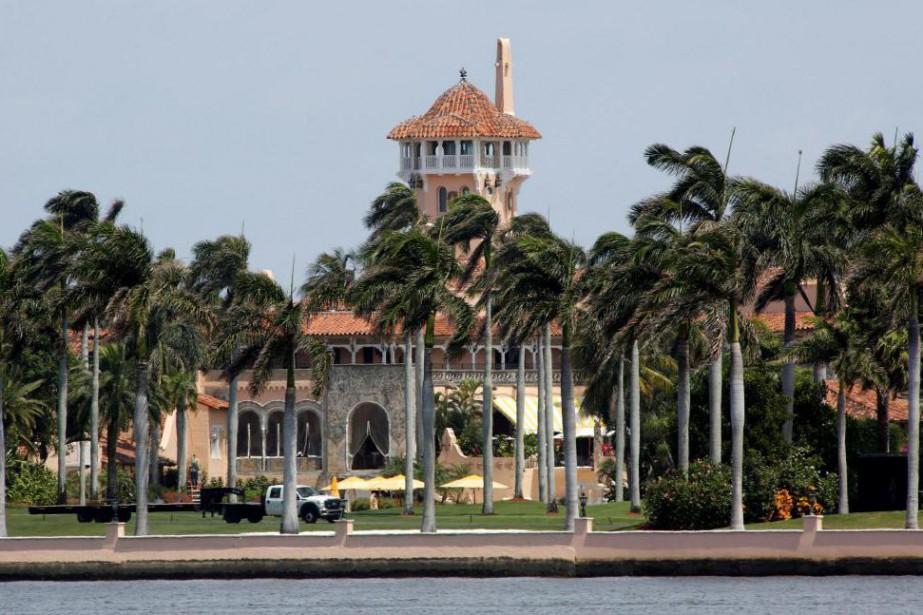 Lesfrais d'adhésionau club privé de Donald Trump, Mar-a-Lago,... (PhotoJoe Skipper, archives Reuters)