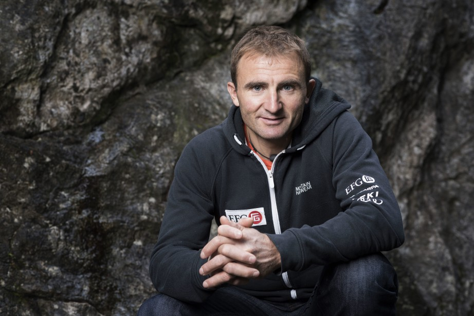 Ueli Steck... (Photo Christian Beutler, archives Keystone via AP)