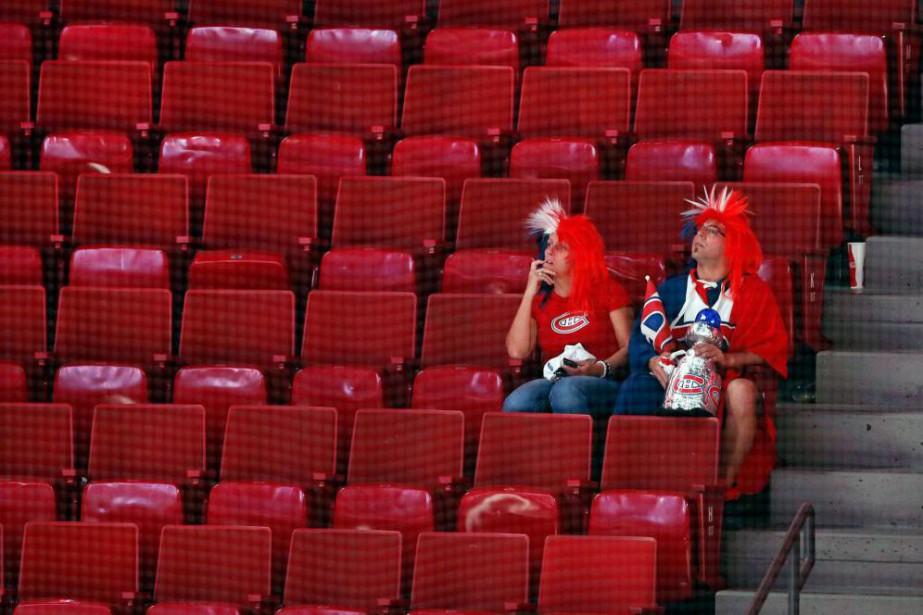 La défaite du CH a fait plus mal... (Photo Robert Skinner, archives La Presse)