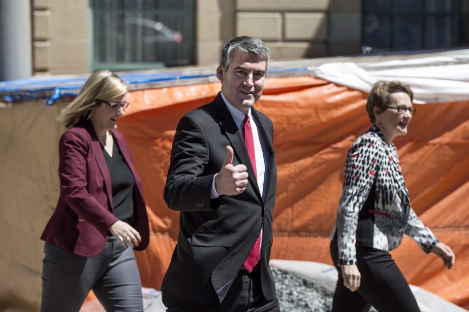 Le premier ministre de la Nouvelle-Écosse Stephen McNeil,... (Photo Darren Calabrese, La Presse Canadienne)