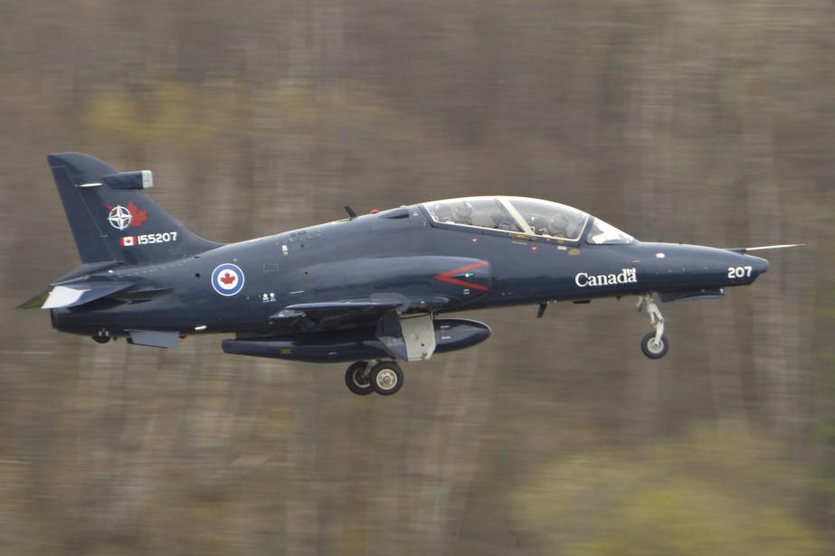 Un Hawk CT-155 de l'aviation canadienne | 30 avril 2017