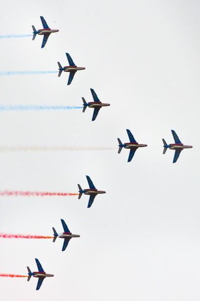 La Patrouille de France (Martin Roy, Le Droit)