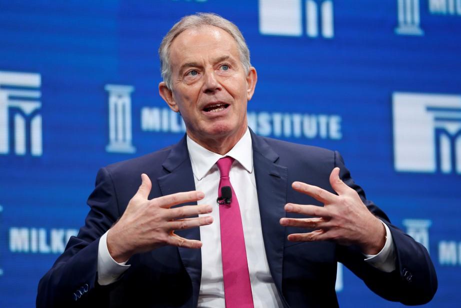 Tony Blair explique ne pas vouloir se «retrouver... (Photo Lucy Nicholson, REUTERS)