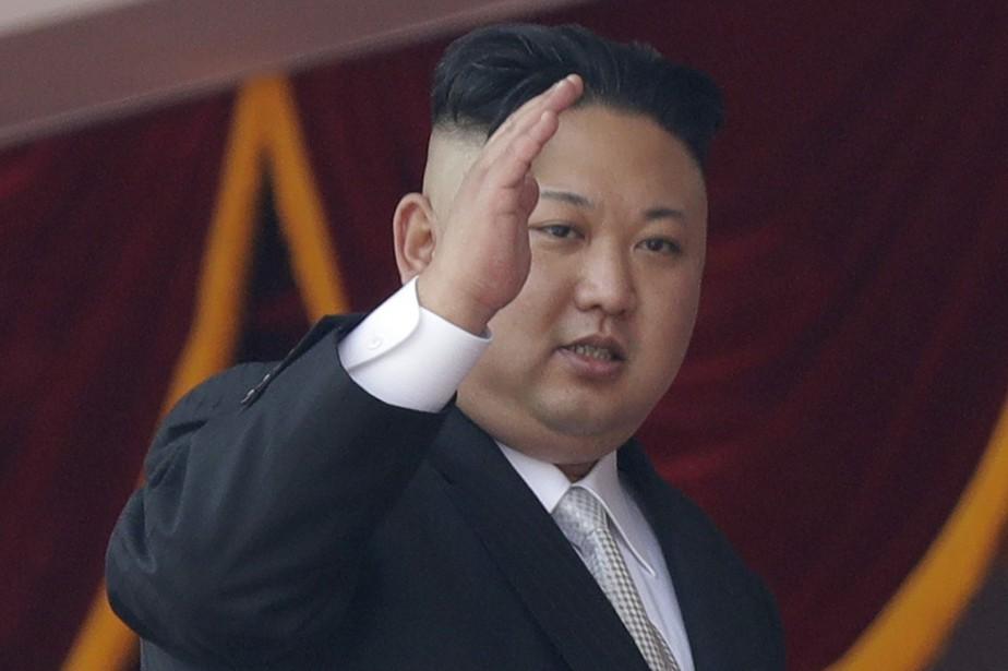 Le dirigeant nord-coréen Kim Jong-Un.... (AP)
