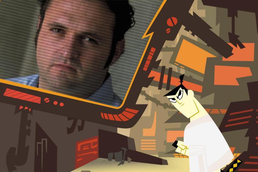 Genndy Tartakovsk et Samurai Jack... (Image fournie par Adult Swim)