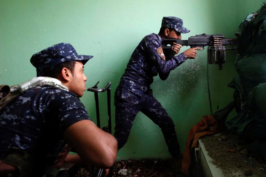 «Dix soldats ont été tués et six autres... (REUTERS)