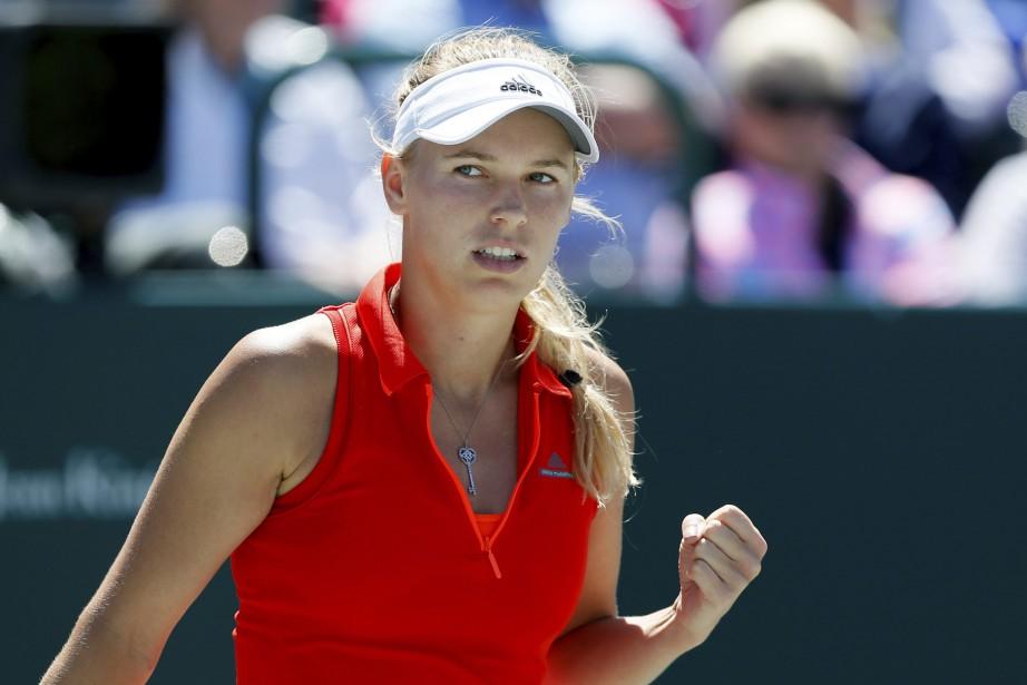 Caroline Wozniacki... (Photo archives AP)