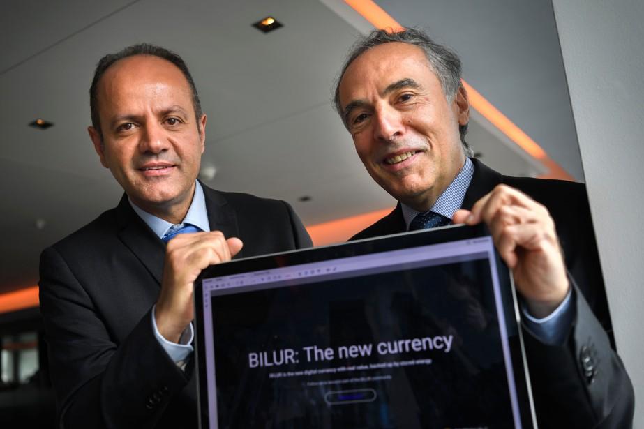 «C'est la première cryptomonnaie avec une vraie valeur»,... (AFP)