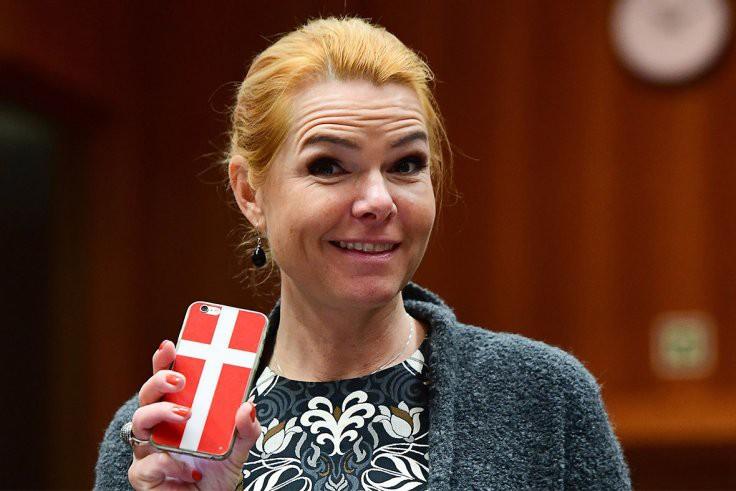 La ministre de l'Intégration du Danemark, Inger Stoejberg... (AFP, Emmanuel Dunand)