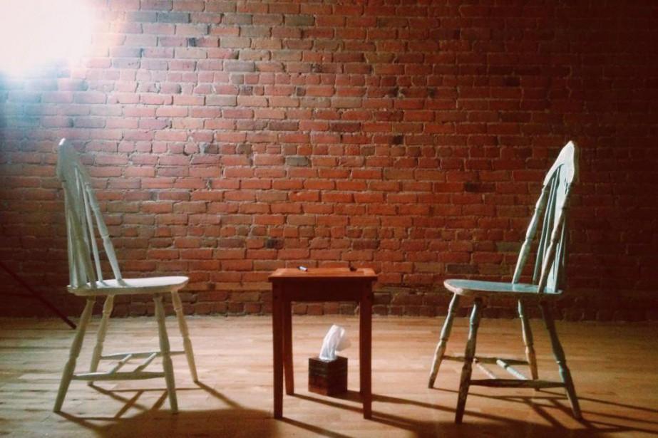 La série TheAndvise à explorer «l'espace de communication... (Photo fournie par The Skin Deep)
