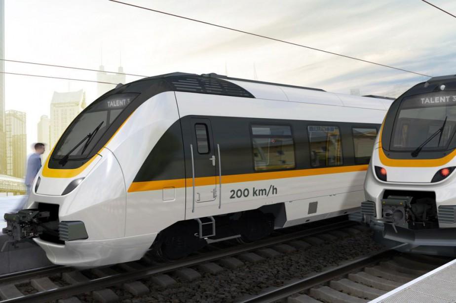 Dans le quotidien suisseLe Temps, un porte-parole de... (Photo fournie par Bombardier)