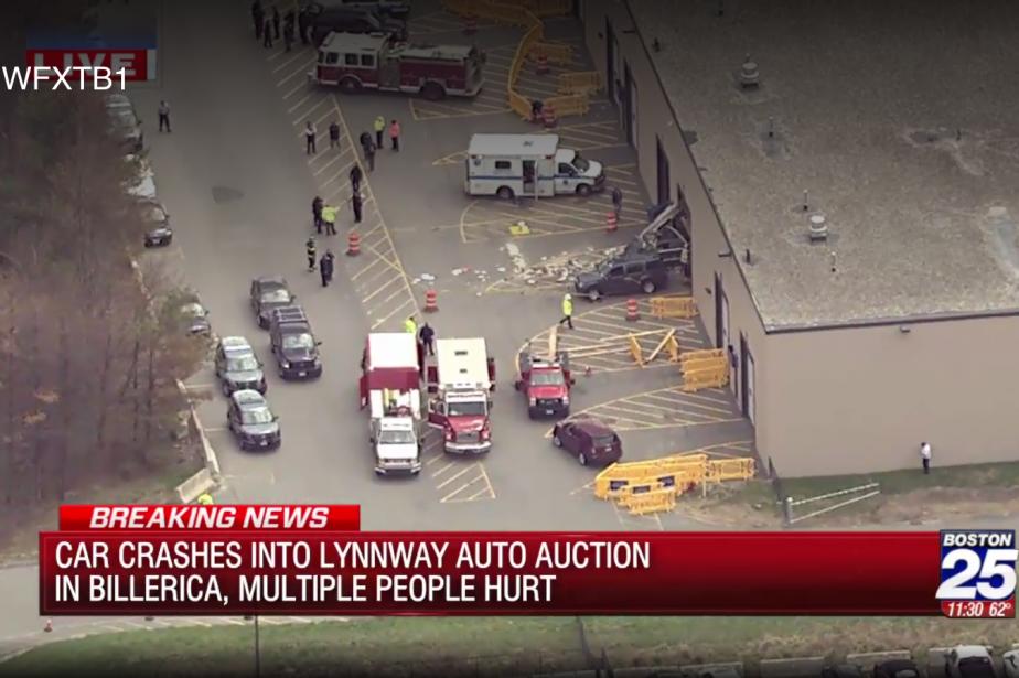Trois personnes ont péri mercredi lorsqu'une voiture... (Capture d'écran FOX25)