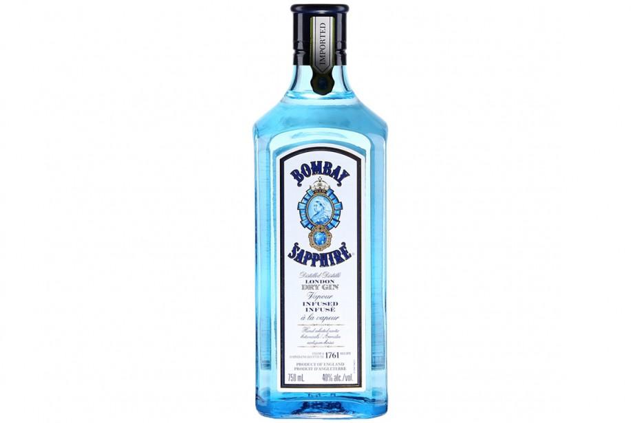 Les bouteilles incriminées de Bombay Sapphire London Dry... (SAQ)