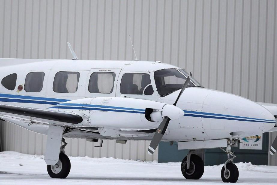 Un avion de type Piper PA-31... (Photo Trevor Hagan, archives PC)