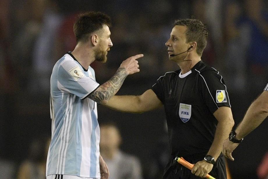 Lionel Messi avait été suspendupour quatre matchs internationaux... (Photo Juan Mabromata, AFP)