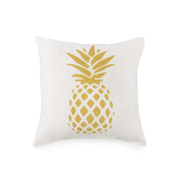 Rose.bon.bon - Coussin «ananas» <br />Dimension: 8 po X 8 po ()