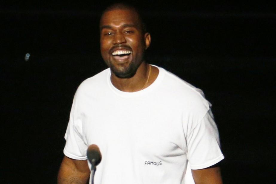 Kanye West lors des MTV Video Music Awards... (PHOTO ARCHIVES REUTERS)
