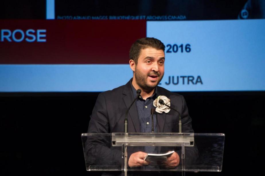 Au gala du Concours canadien de journalisme, le... (PhotoGalit Rodan, La Presse canadienne)