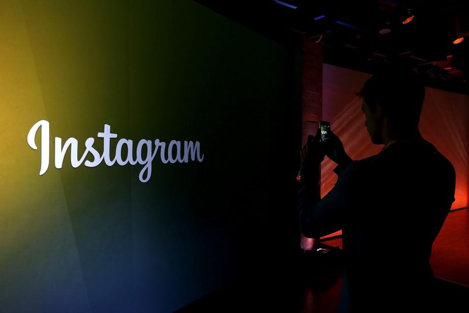 Le réseau social Instagram de partage de photos... (PHOTO ARCHIVES AFP/GETTY IMAGES)