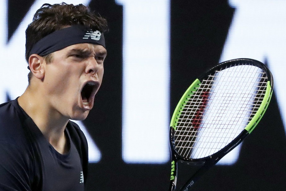 Milos Raonic... (archives AP)