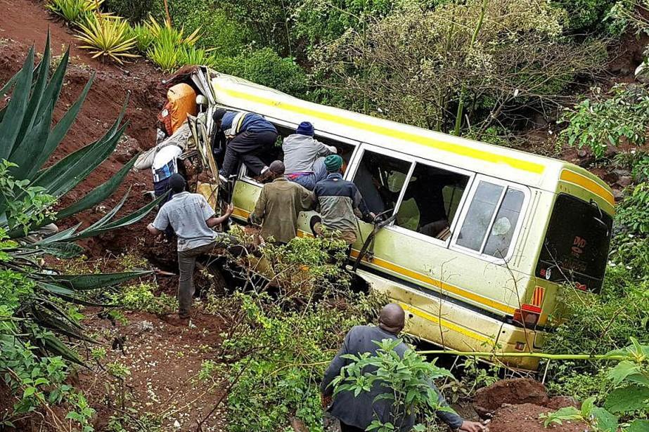 L'accident s'est produit samedi matin, dans le district... (Photo Emmanuel Herman, REUTERS)