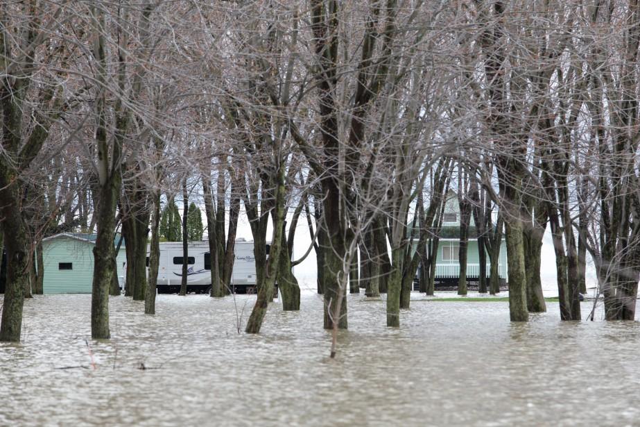 Le lac Saint-Pierre n'a plus de frontières. | 8 mai 2017