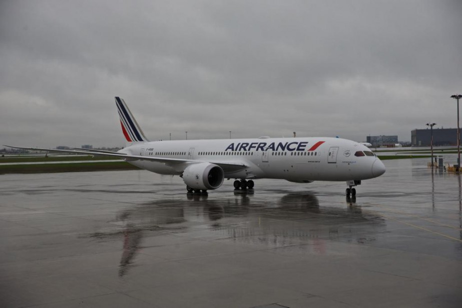 L'aéroport Montréal-Trudeau a accueilli pour la première fois... (Photo André Pichette, La Presse)