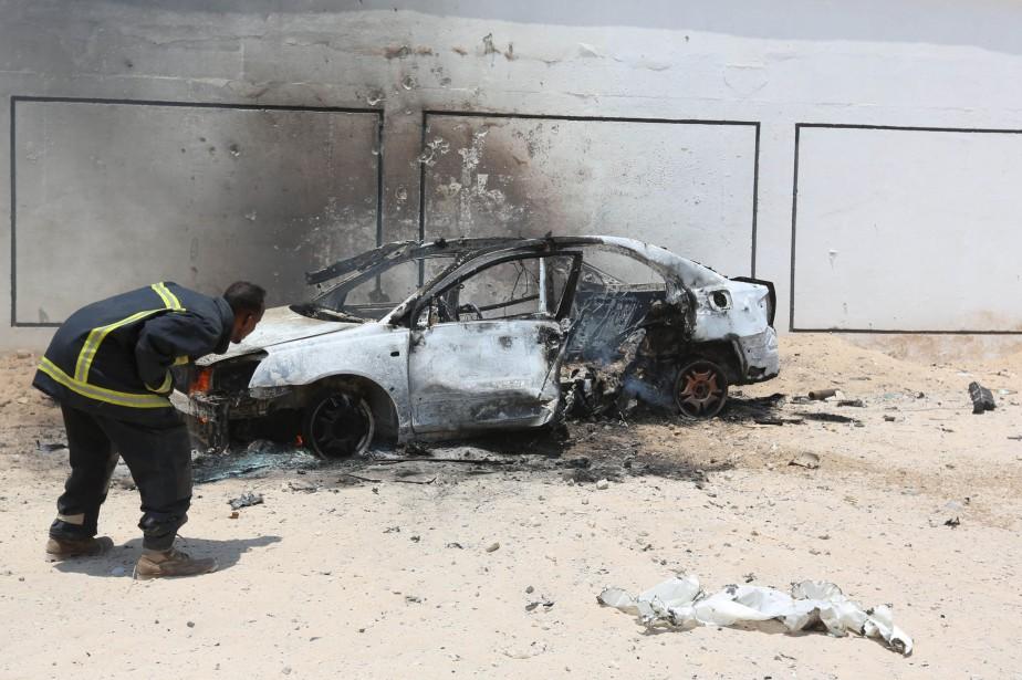 Un autre voiture piégée avait explosée il y... (Photo archives REUTERS)