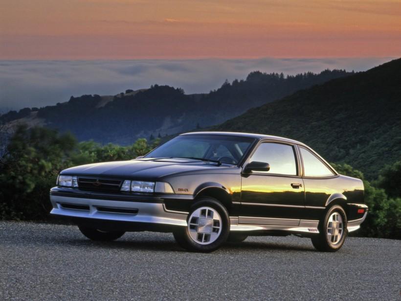 <strong>Sa première voiture</strong> La Chevrolet Cavalier Z24 1988 que son père lui a achetée comme cadeau marquant son entrée dans la vie adulte. (Photo : Chevrolet)