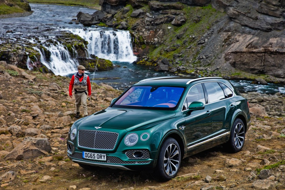 <strong>La voiture de ses rêves</strong> La Bentley Bentayga : «Quand j'ai vu la Bentayga pour la première fois à New York, je me suis dit:wow!» (Photo : Bentley)
