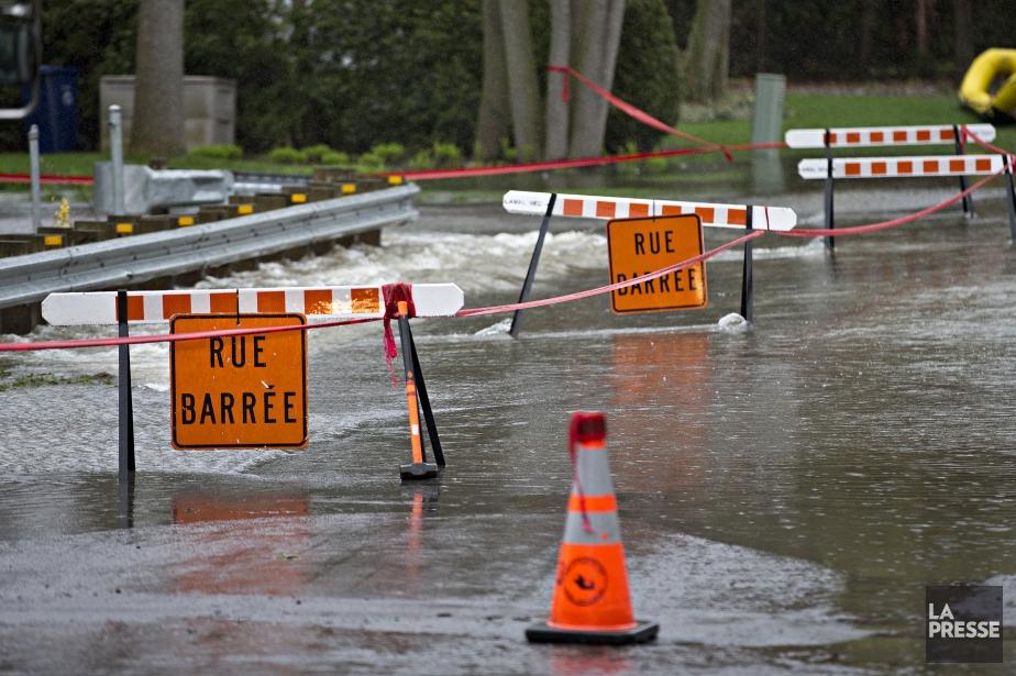 La Croix-Rouge du Québec a annoncé cet... (Photo Patrick Sanfaçon, La Presse)