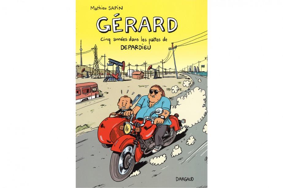 Gérard, cinq années dans les pattes de Depardieu... (Photo fournie par Dargaud)