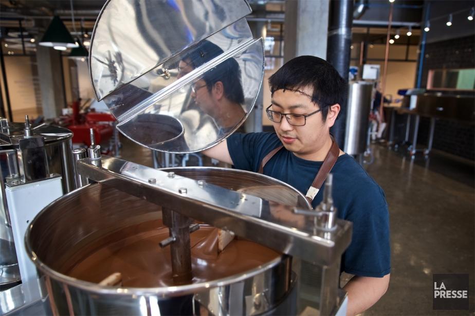Le chocolat servira non seulement à approvisionner les... (Photo André Pichette, La Presse)