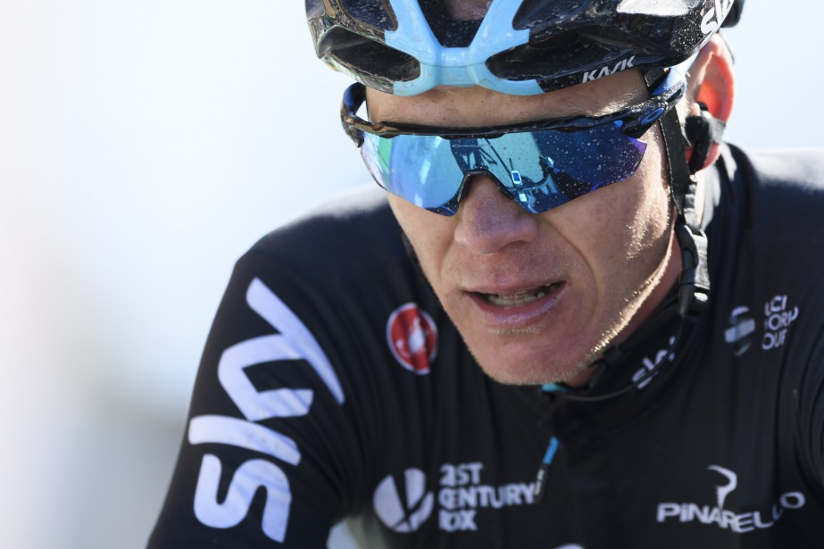 Chris Froome... (Photo Fabrice Coffrini, AFP)