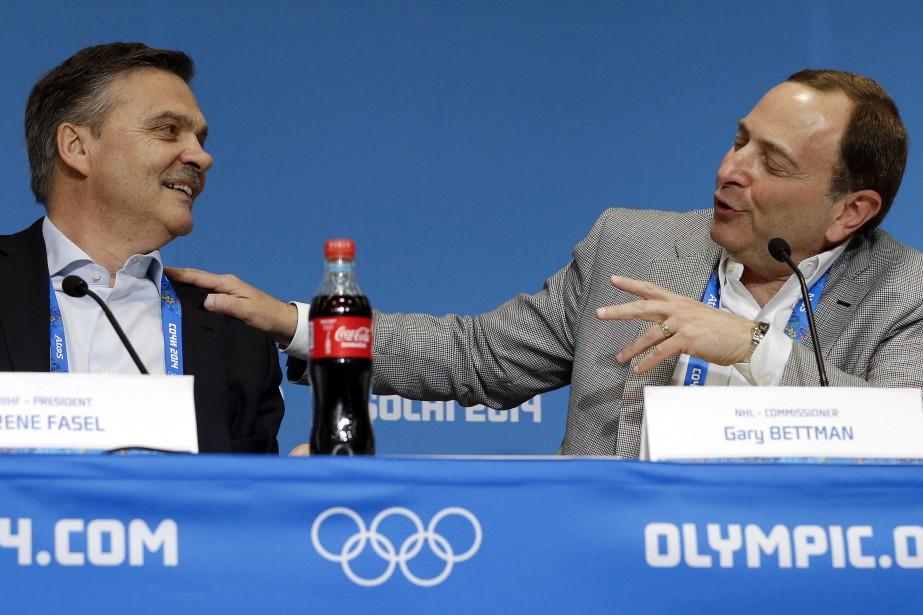 Le président de la Fédération internationale de hockey... (Photo Mark Humphrey, archives AP)