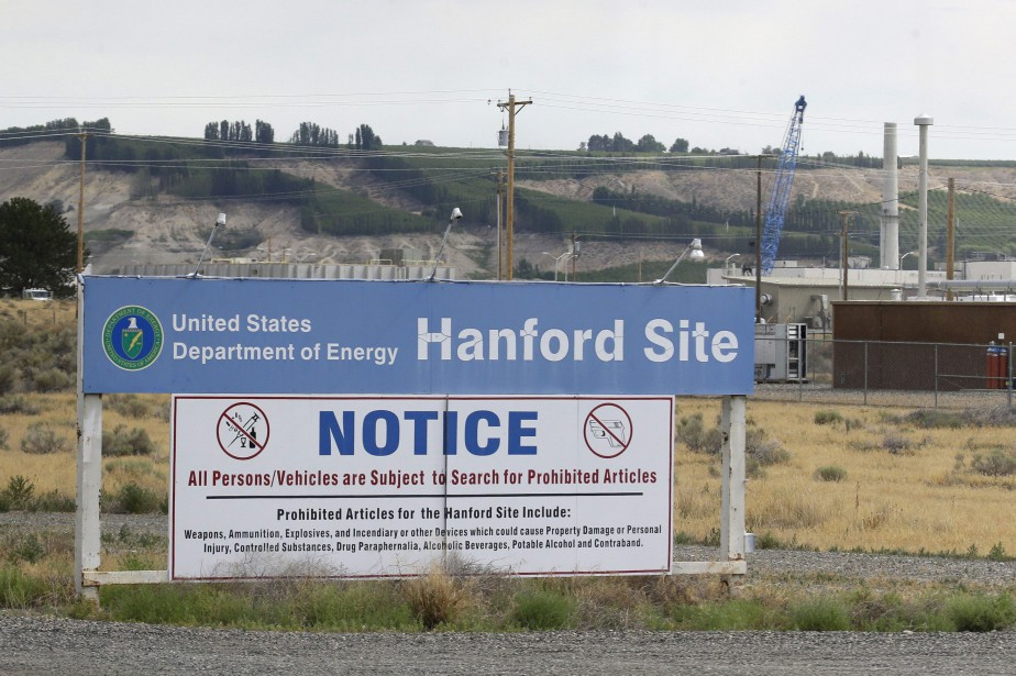 Le site de Hanford, considéré comme la plus... (ARCHIVES AP)