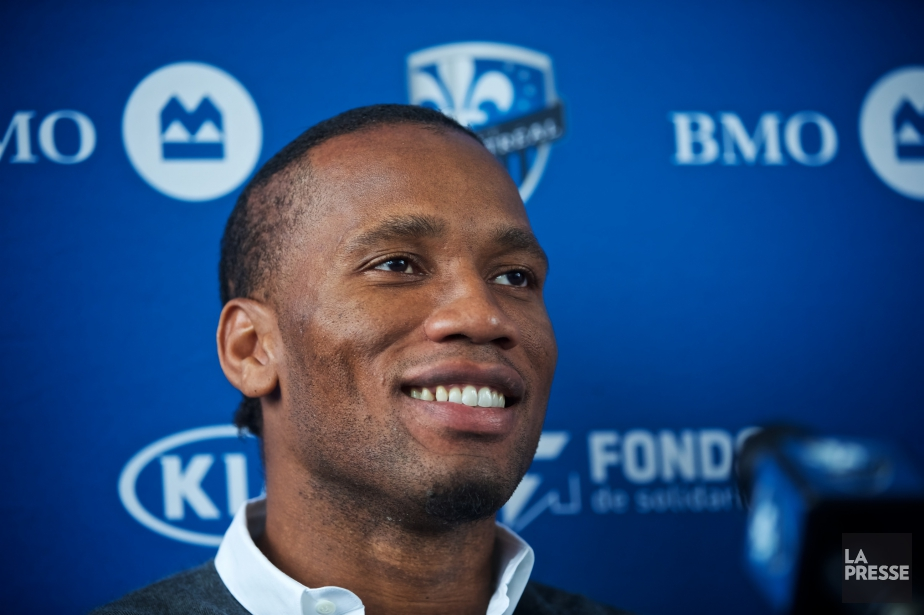 Didier Drogba,ancien attaquant de l'Impact de Montréal, veut... (Photo André Pichette, La Presse)