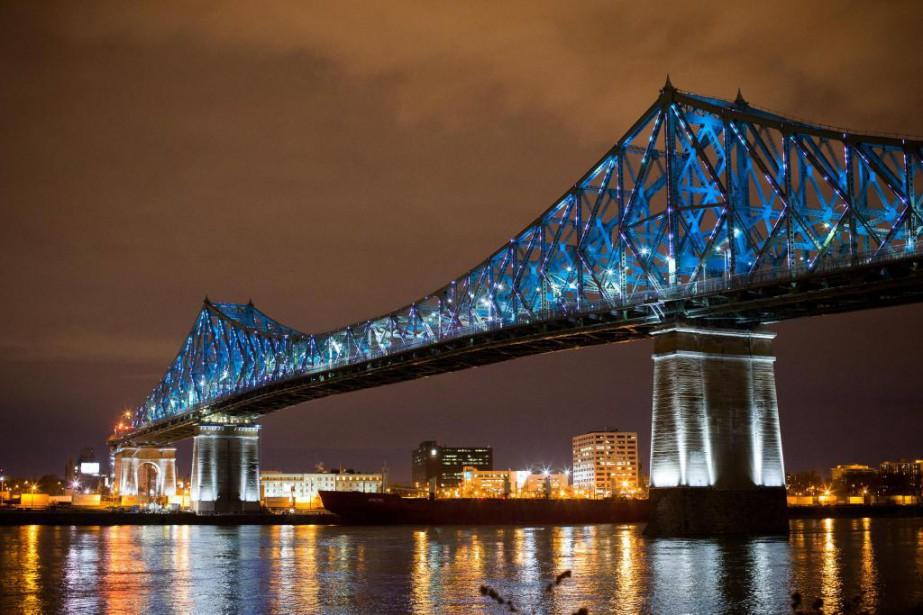 Au cours des 10 prochaines années, le pont... (PHOTO SARAH MONGEAU-BIRKETT, LA PRESSE)