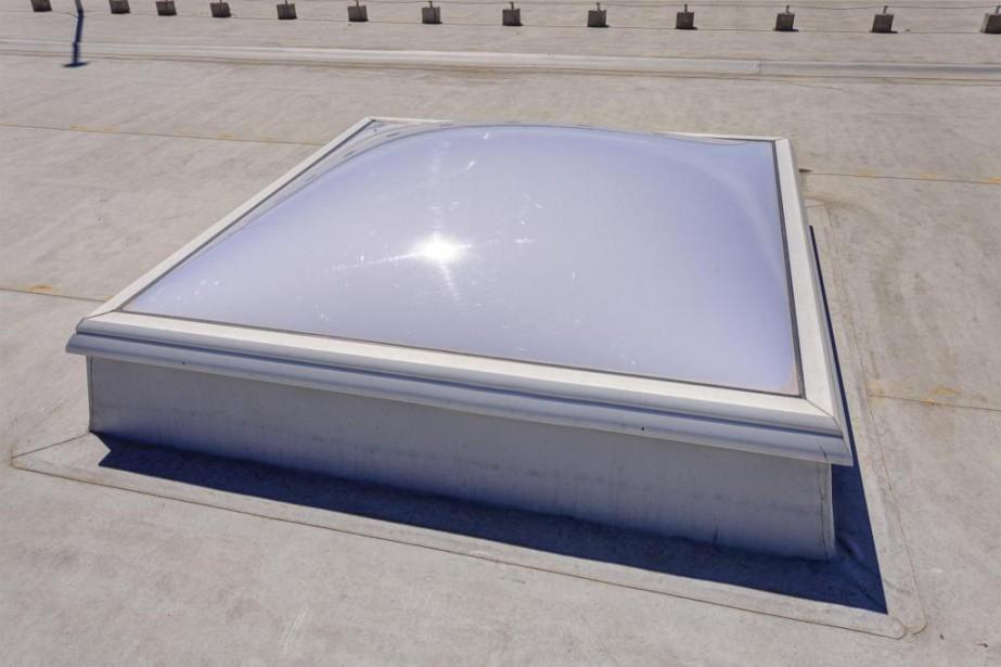 Sur les toits en pente et sur les... (Photo Thinkstock)