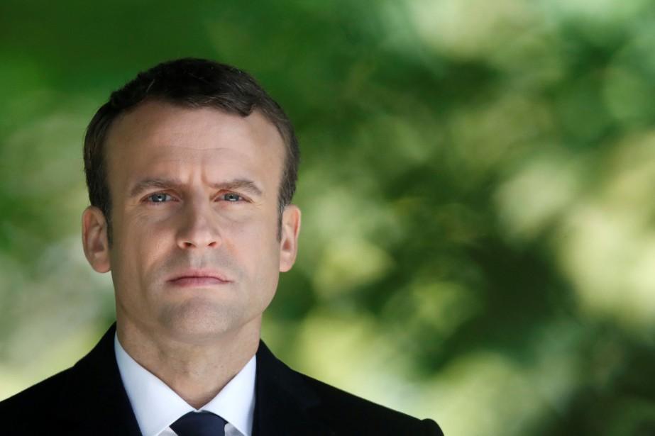 Emmanuel Macron... (PHOTO REUTERS)