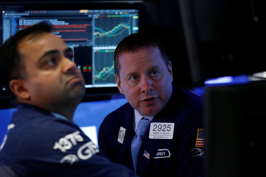 La moyenne Dow Jones des valeurs industrielles a... (REUTERS)