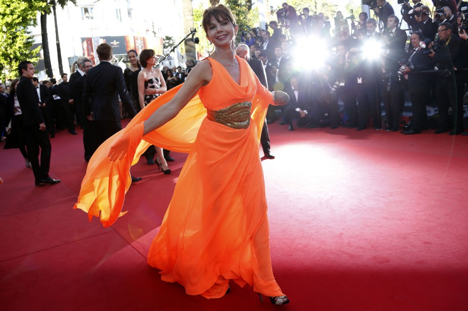 Victoria Abril au Festival de Cannes en mai... (PHOTO ARCHIVES AFP)