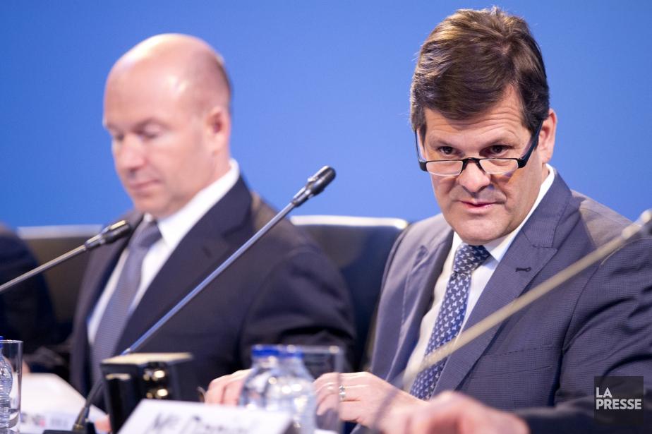 Alain Bellemare et Pierre Beaudoin.... (Photo François Roy, La Presse)