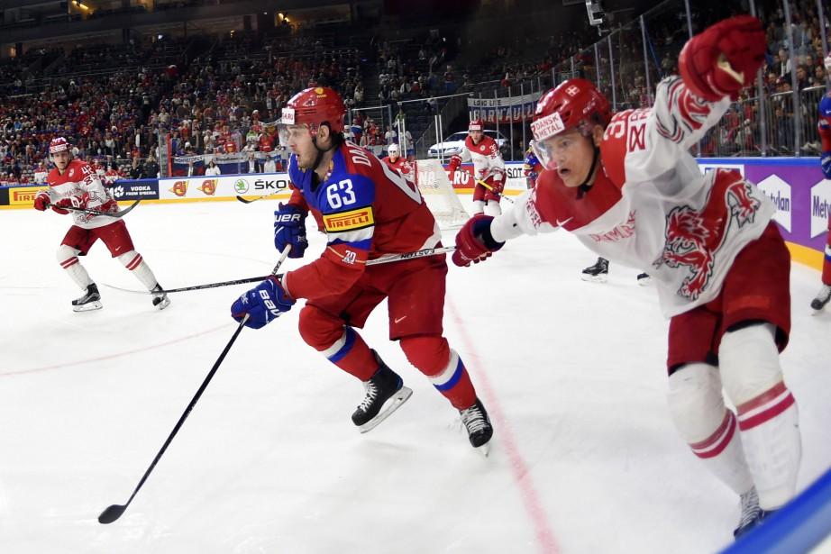 La Russie a inscrit une quatrième victoire consécutive au... (PHOTO AFP)